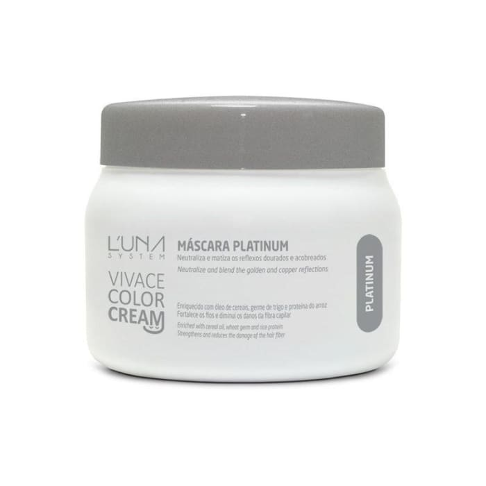Máscara Platinium 250g - Vivace Color Cream (0)