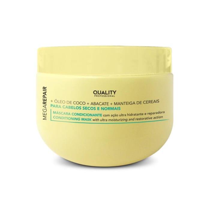 Máscara Condicionante para cabelos secos e normais Mega Repair 300g (0)