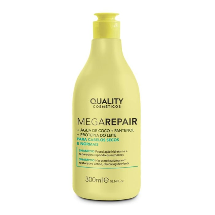 Shampoo Cabelos Secos e Normais Mega Repair 300ml (0)