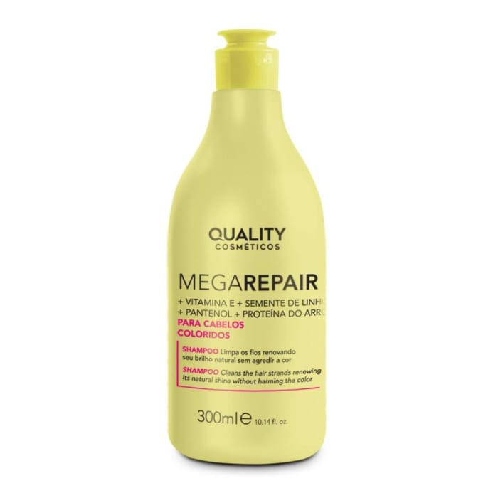 Shampoo Cabelos Coloridos Mega Repair 300ml (0)