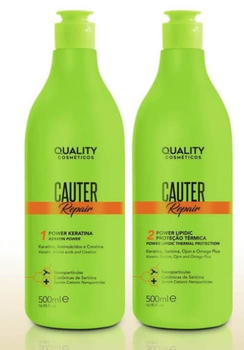 Kit Cauter 500 ml – (Proteína Térmica - Keratina) (0)
