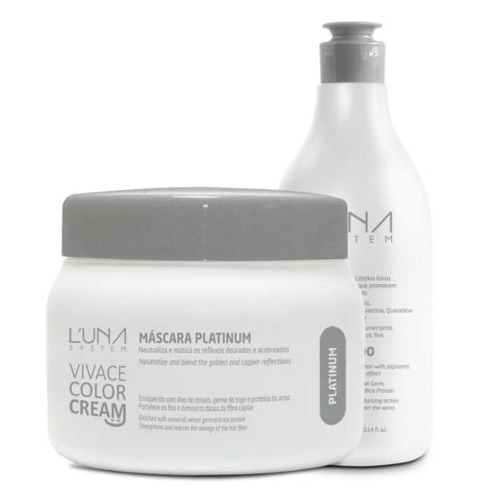 Vivace Color - Kit Shampoo e Máscara Platinum (0)
