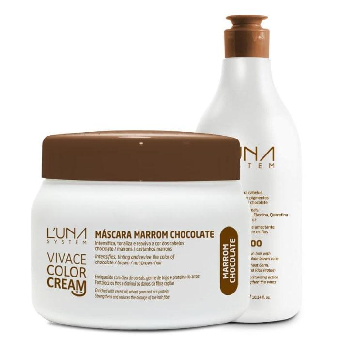 Vivace Color Cream - Shampoo + Máscara Marrom Chocolate (0)