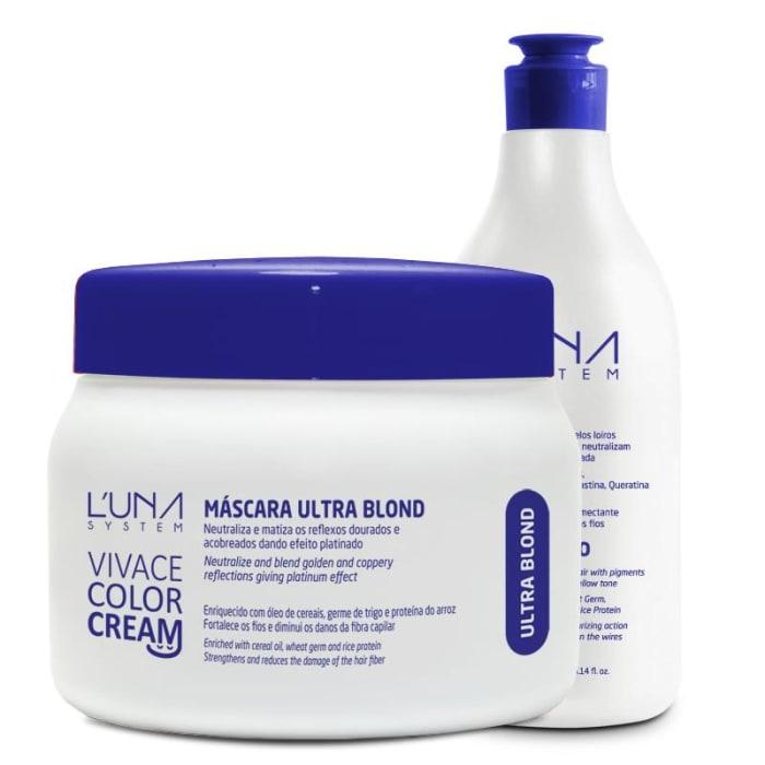 Vivace Color Cream - Shampoo + Máscara Ultra Blond (0)