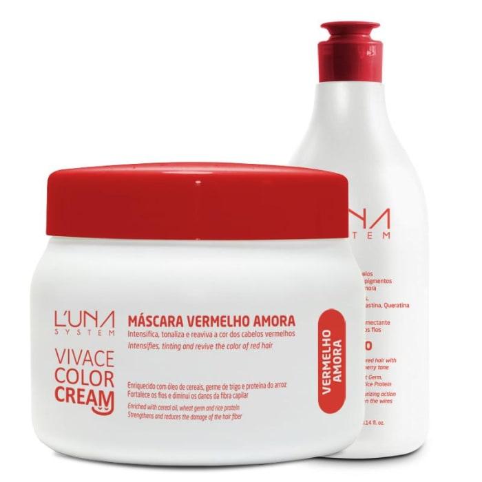 Vivace Color Cream - Shampoo + Máscara Vermelho Amora (0)